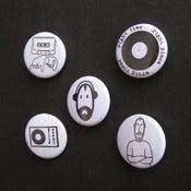 Image of John Peel badges