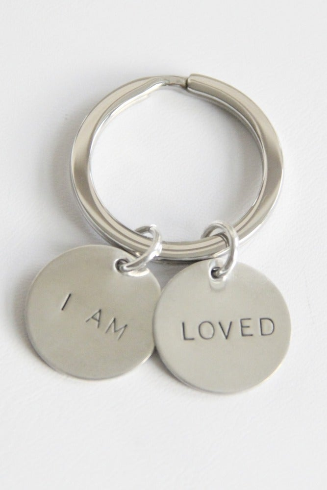 Image of I AM LOVED KEY CHAIN