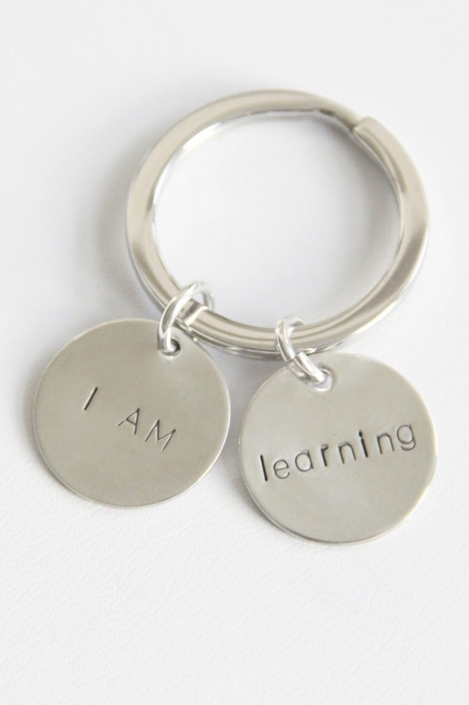 Image of I AM LEARNING KEY CHAIN