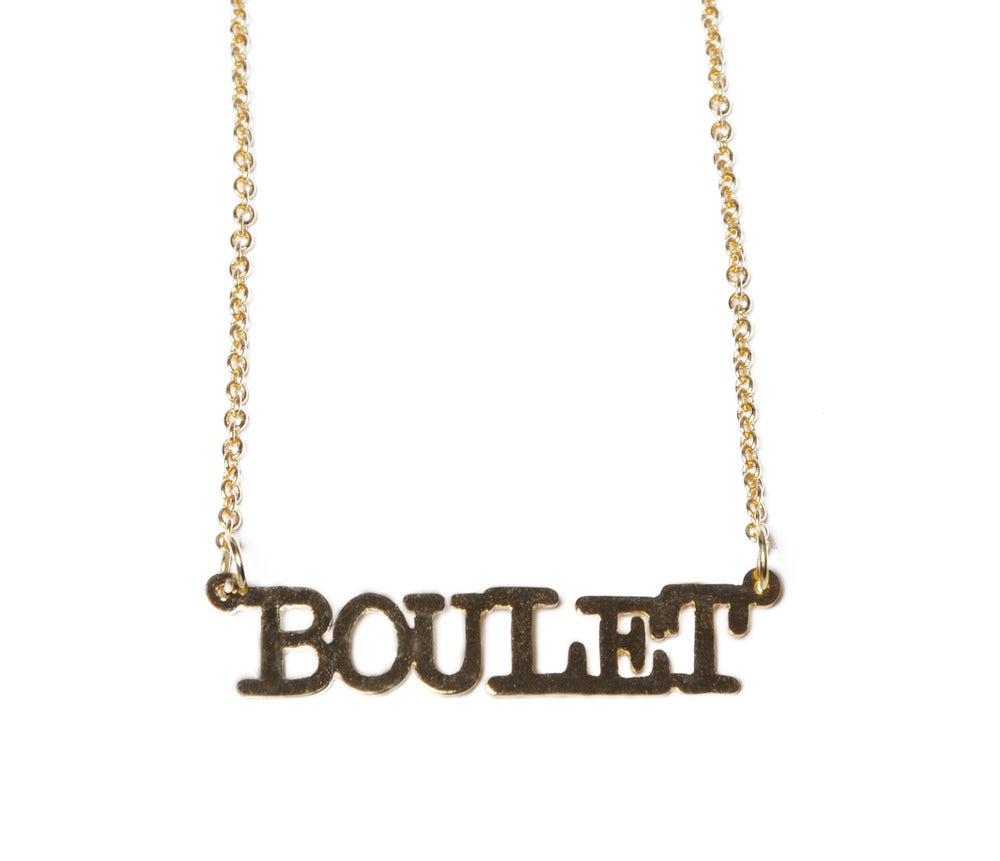 Collier Boulet - Félicie Aussi