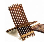 Image of Folding Barrel Chair (Each)