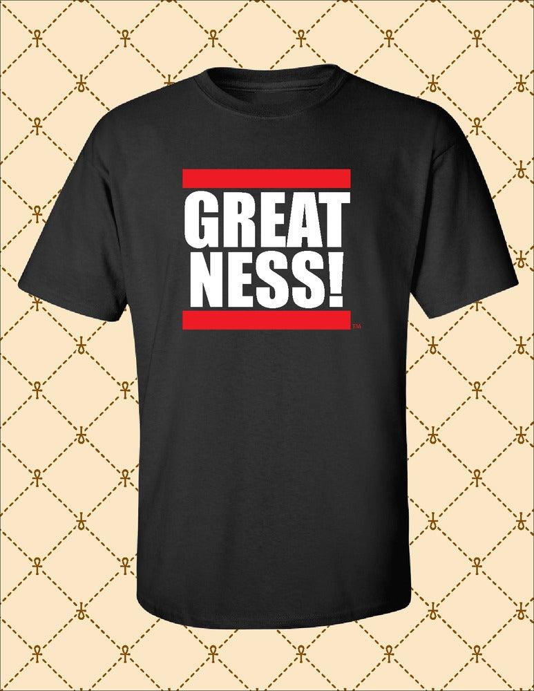 Image of Mens Greatness Logo Tee