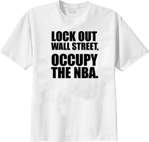 "Image of ""Occupy the NBA T-Shirt"""