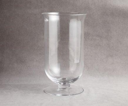 Image of Glass Hurricane Vase BC-206