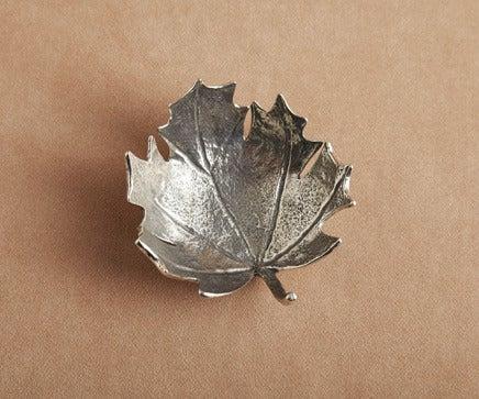 Image of Metal Leaf Bowl BC-191