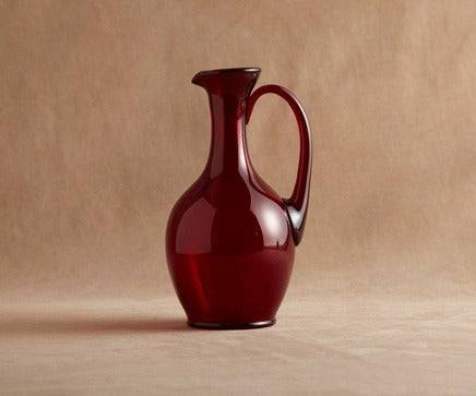 Image of Vintage Ruby Glass Carafe BC-181