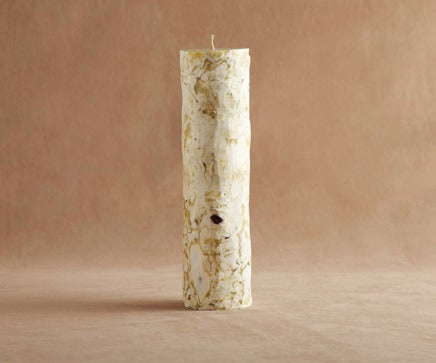 Image of Birch Pillar Candle BC-180