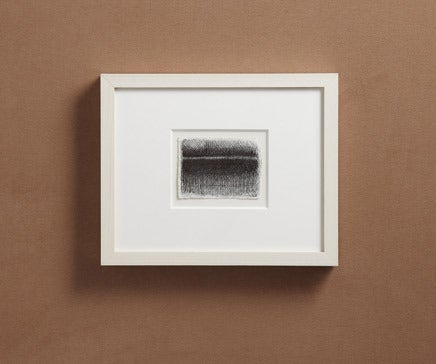 Image of Abstract Pen and Ink Drawing with White Painted Frame 10 BC-178