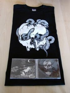 Image of Away from the Haunts of Men - CD + t-shirt package