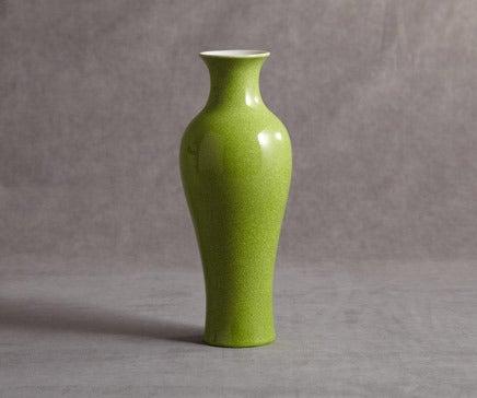Image of Celedon Crackle Porcelain Vase BC-037