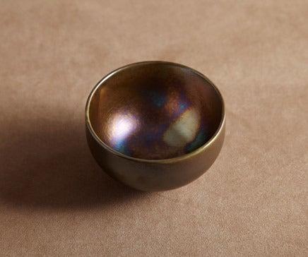 Image of Bronze Oxidized Ceramic Bowl BC-021