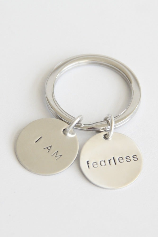 Image of I AM FEARLESS KEY CHAIN
