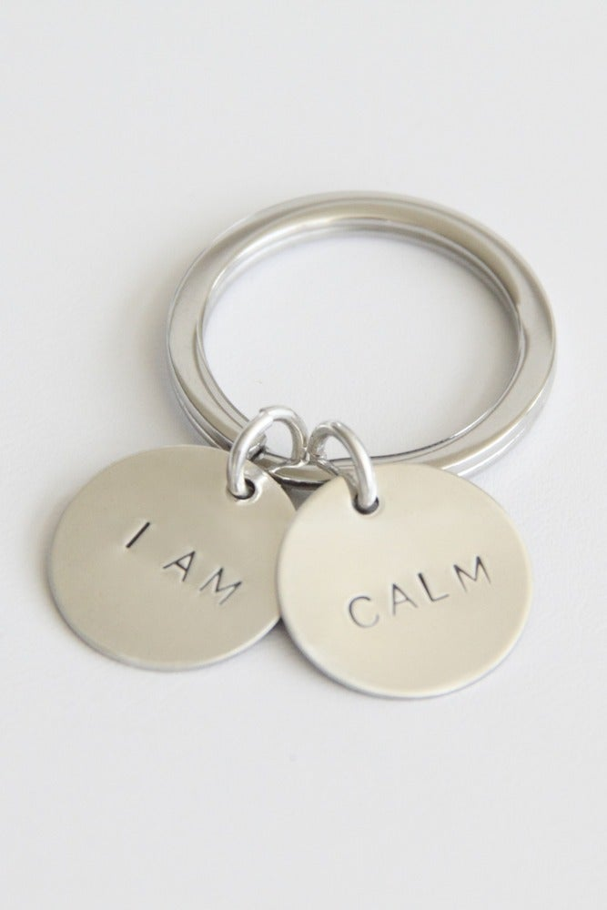 Image of I AM CALM KEY CHAIN