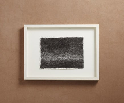 Image of Abstract Pen and Ink Drawing with White Painted Frame 2 BC-165