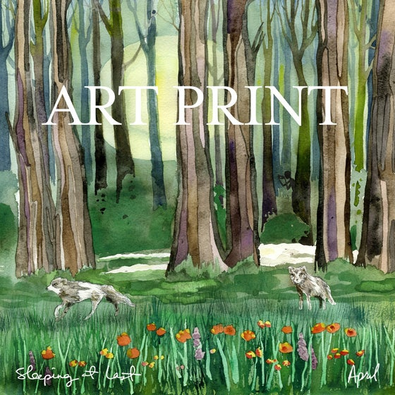 "Image of ""April"" Yearbook Art Print"