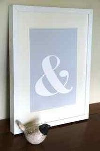 Image of Ampersand Symbol PRINT