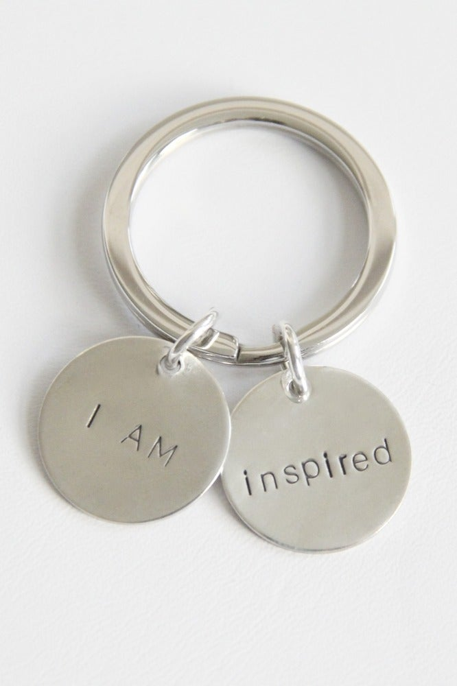 Image of I AM INSPIRED KEY CHAIN