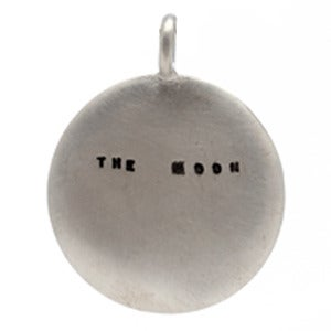 Image of Silver Moon Necklace