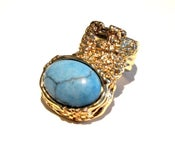 Image of Maydoll Turquoise Knuckle Ring