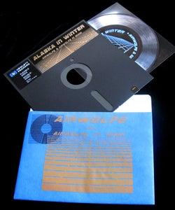 Image of Airwolfe Flexi Disc Vinyl