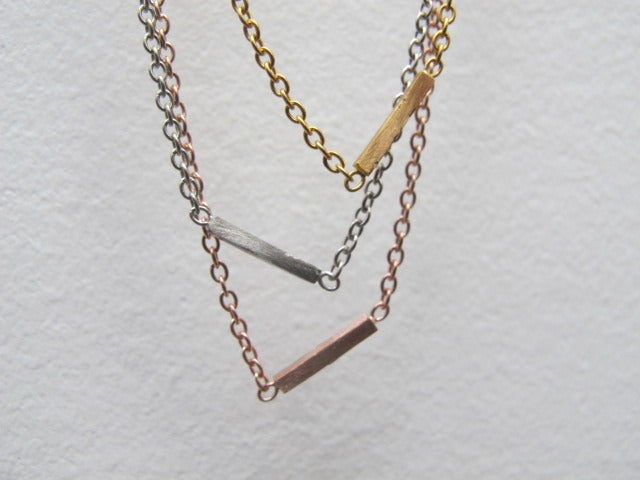 Image of ALEXIS BAR NECKLACE