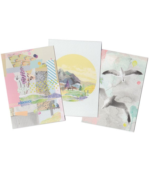 Image of Collage Card Set
