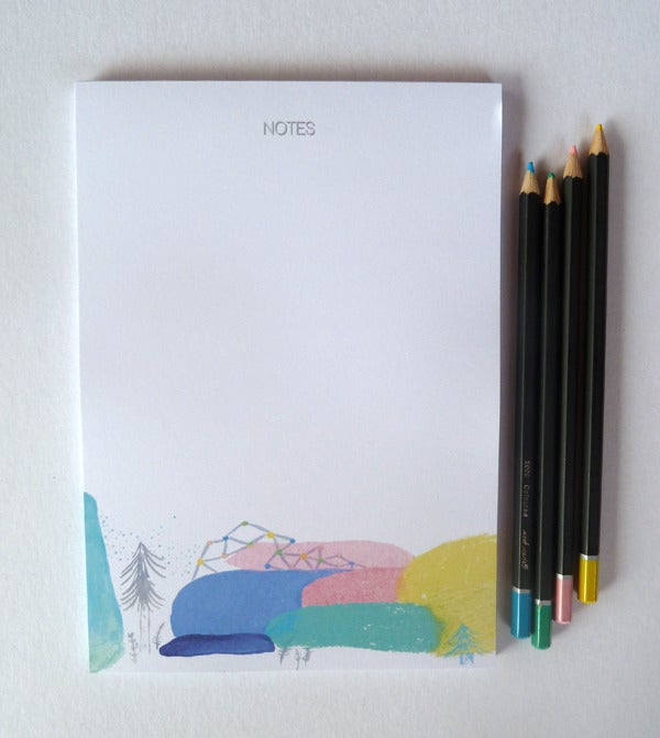 Image of Colour My Day Notepad