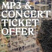 Image of cut price mp3 + ticket bundle