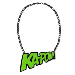 Image of KAPOW! Necklace