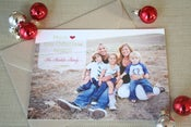 Image of Holiday Photo Card: Much Love