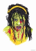 Image of Zombie Girl A2 Print.
