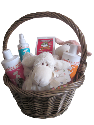 Image of Totally Natural Doggy Gift Basket