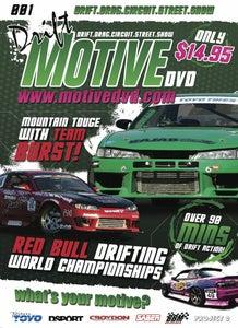 Image of Motive DVD #001 - Red Bull Drifting World Championships