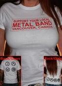 Image of White GUYS  & GIRLS  JAR Support' T-shirt