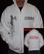 Image of White JAR 'Support' Hoodie