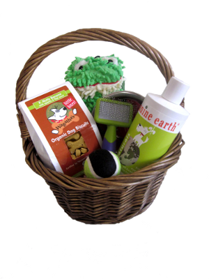 Image of Sweet Puppy Love Basket