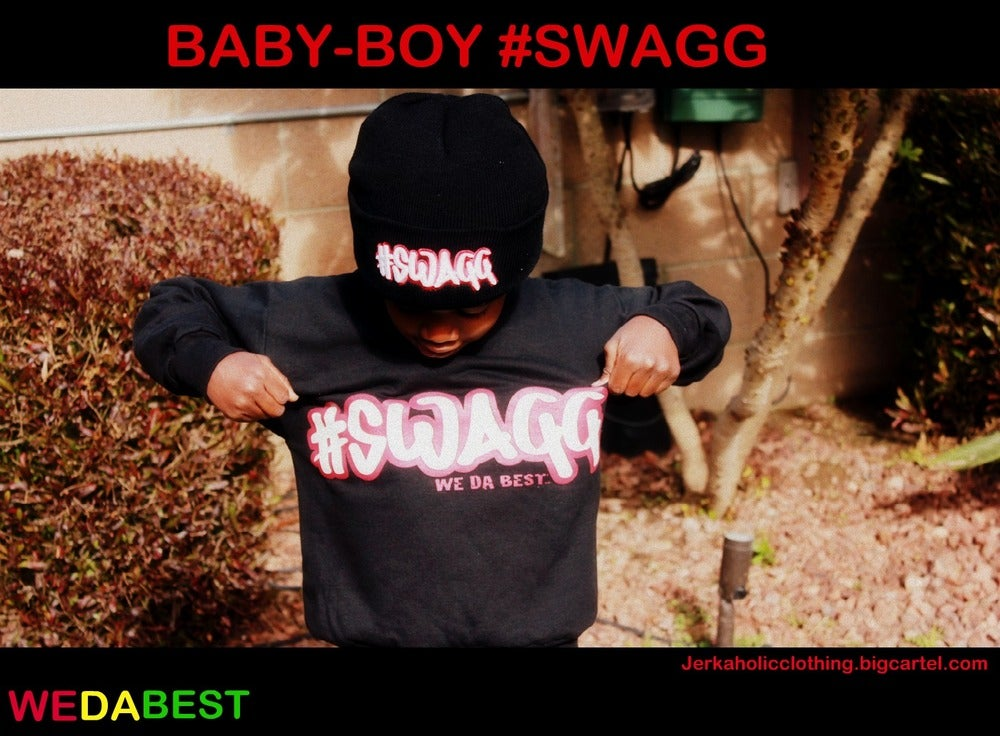 Image of #SWAGG CREWNECK IN YOUTH sizes