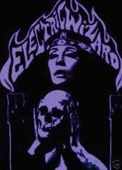 Image of Electric Wizard original T-shirt purple