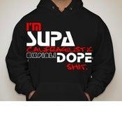 Image of Black Supa Dope Hoodies