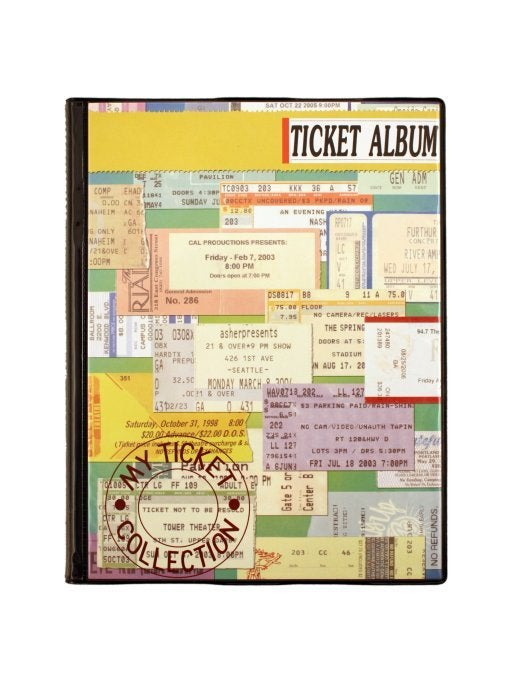 Image of Concert Cover Ticket Album
