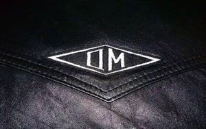 Image of OMARINA 'OM' Diamond Logo Biker Patch