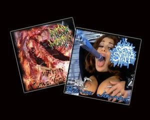 Image of SPERMSWAMP/RIGOR MORTIS - NOT LIKE MOST CD
