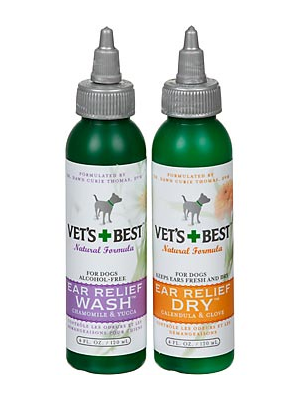 Image of Vet's Best Natural Ear Relief Wash & Dry *Save on shipping with Combo