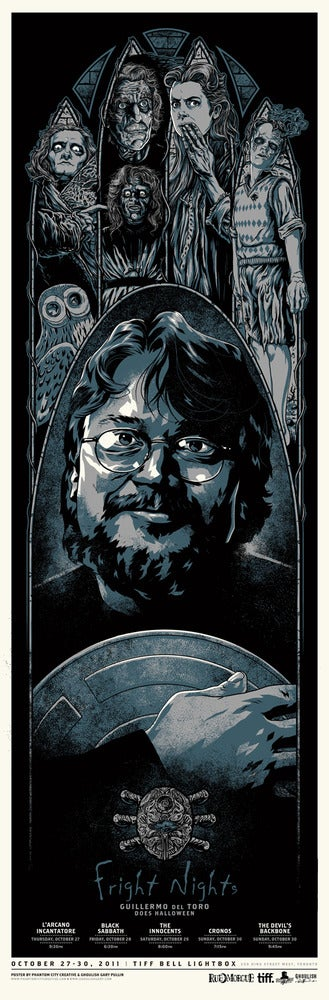 Image of Guillermo del Toro Fright Nights at TIFF Variant