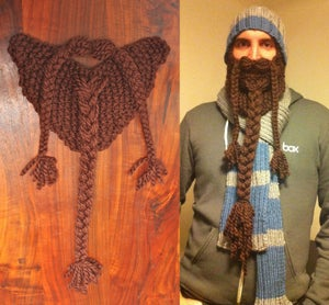 Image of Brown Knit Beard