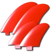 Image of Von Sol Twinzer Quad Fin Set