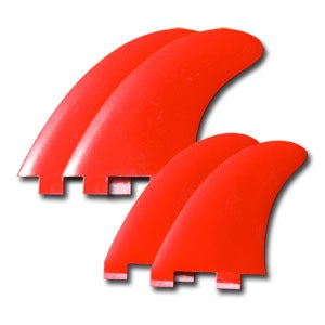 Image of Von Sol Hornet Quad Fin Set