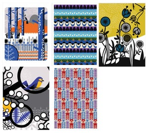 Image of Greetings cards - pack of five