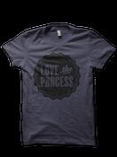 Image of LOVE the PROCESS Shirt - Asphalt