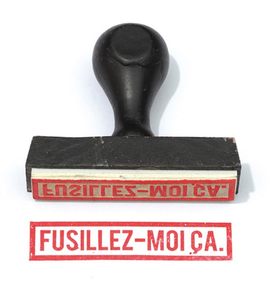 Image of Fusillez-moi ça.